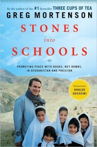 stones into schools audio book
