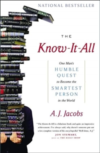 The Know-It-All audio book