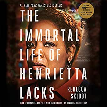 immortal life henrietta lacks audiobook