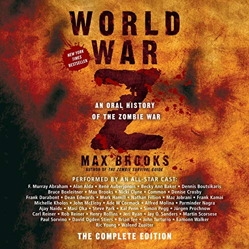 world war z complete audiobook