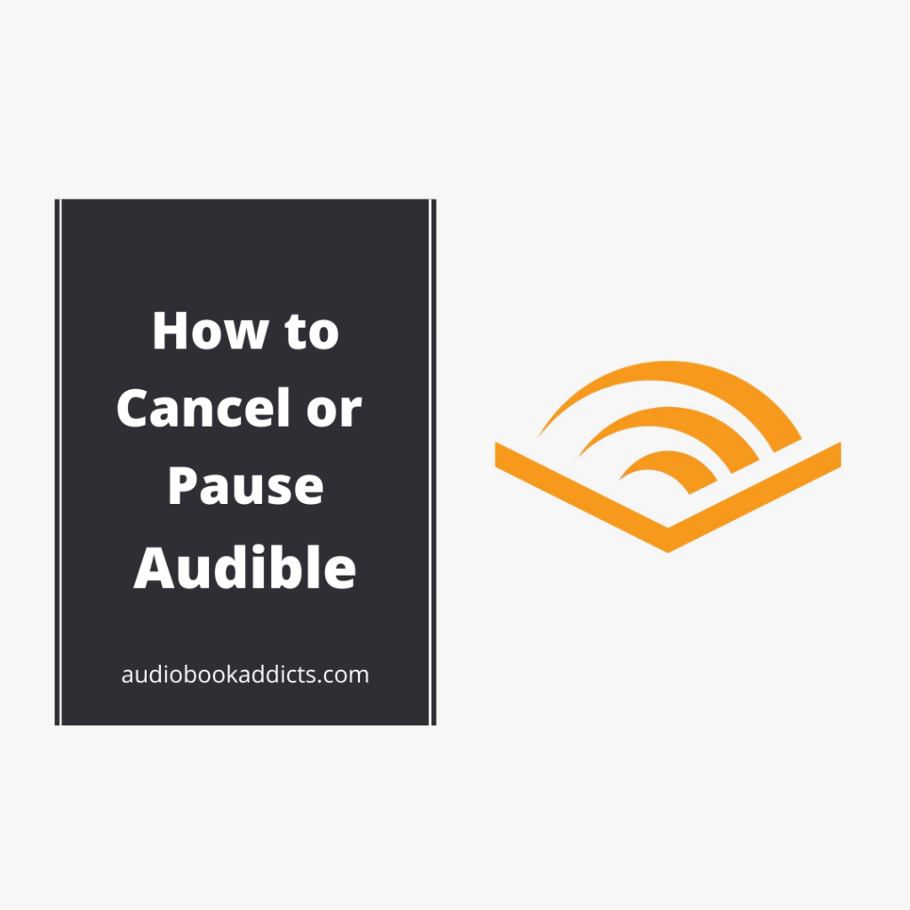 Pause or Cancel Audible