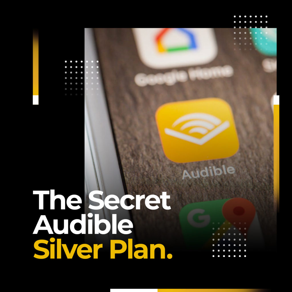 audible silver plan