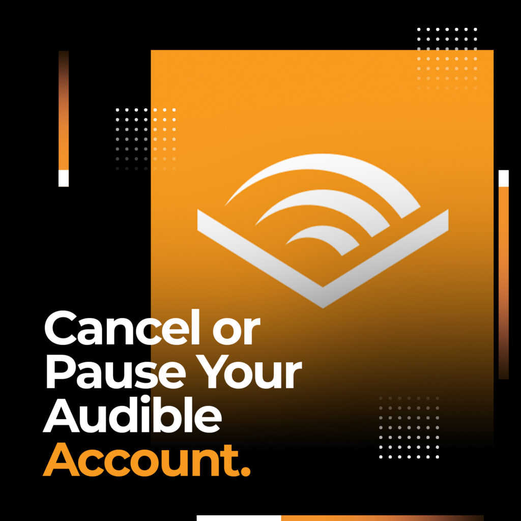 cancel audible pause