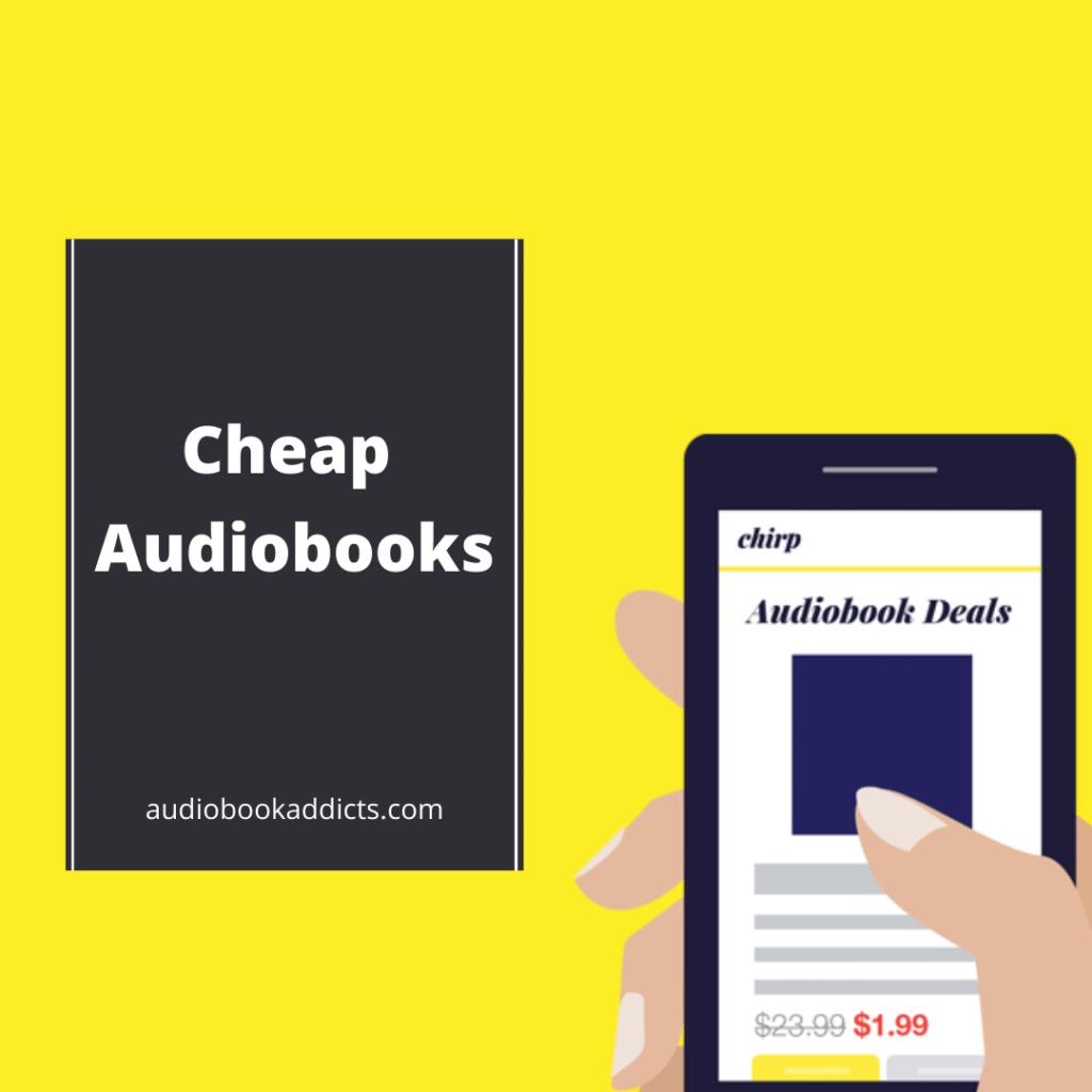 cheap audiobook deals